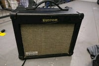 black and gray Line 6 guitar amplifier Toronto, M5V 3W5