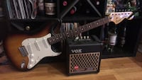 Squire stratocaster with amp West Orange, 07052