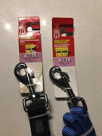 Dog leash 6' long $12 each or both for $20 Coquitlam, V3B 6L2