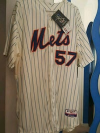 white and black striped New York Mets 57 jersey sh Lauderdale Lakes, 33311