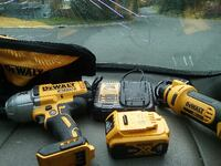 two DeWalt cordless hand drills Anchorage