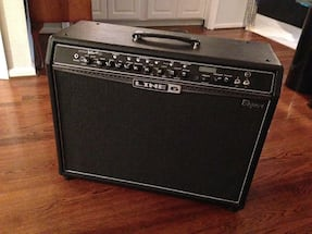 Line 6-bogner spider valve 212 tube amp w/digital modeling &  FREE add-on foot control! A great new low price!