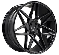 "24"" GIANELLE PARMA Wheel Package   24x10"" Gloss Black Pricing From $1199 (Wheels Only) La Habra"