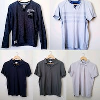 Men's 5 Tops (Polos and Long Sleeve)  North York, M3K 2C1