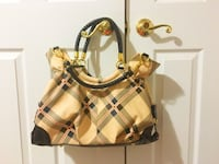 brown and white leather shoulder bag Whitchurch-Stouffville, L4A 0T8