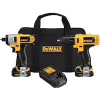 Selling 12v dewalt impact and normal drill combo London, N5W 2N2