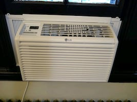 LG LW6017R Window Air Conditioner (6,000 BTUs, White)