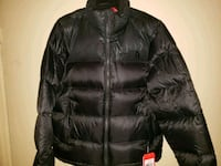 black zip-up bubble jacket Easton, 18045