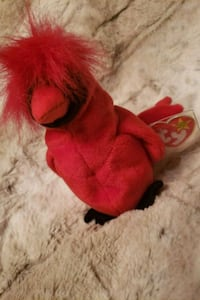 red and black bear plush toy Boonsboro, 21713