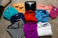 Gorgeous Lacoste and Polo tshirt and long sleeve button downs.  London, N6B 3H7