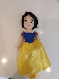 Authentic Snow White costume, wand and soft doll Merrick