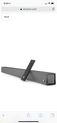 Soundbar, 36-Inch 4 Speakers Strong Bass TaoTronics