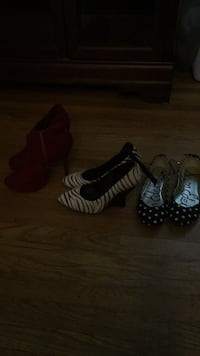3 pairs of shoes  10.00 for 3 San Jose, 95128