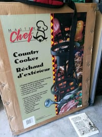 Master Chef Country cooker + Canning cooker