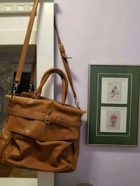 Amazing brown leather bag