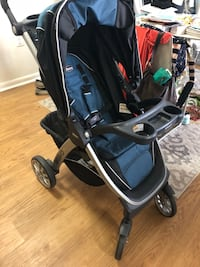 2018 CHICCO BRAVO STROLLER IN MARINE Washington, 20008