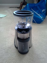 black and stainless steel food blender Bristow, 20136