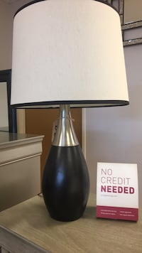 black and gray table lamp Las Vegas, 89121