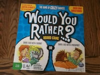 Would You Rather Board Game/ Card Game Calgary, T3K 5E1