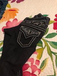 black and purple denim jeans Bonner Springs, 66012
