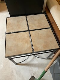 Coffee table with match side tables,  Fort Washington