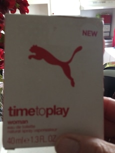 new Puma timetoplay woman 40ml