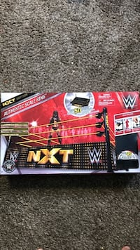 WWE NXT authentic scale ring box Seal Beach, 90740