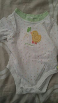 white and yellow floral onesie New Westminster, V3M 3S2