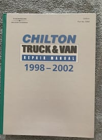 Chilton's Truck and Van Repair Manual, 1998-2002 - Perennial Edition (Chilton's Reference Manuals) Victorville