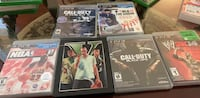 Four assorted ps3 game cases Brampton, L6P 2L8
