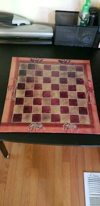 Kenyan Ceramic chess board Burke, 22015