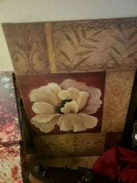 brown and white floral painting San Angelo, 76905