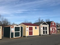 Sheds, storage buildings. NEW Construction