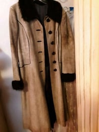 Buffalo and leather brown button-up coat Hyattsville, 20785