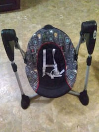 baby's black and gray swing chair 1198 mi