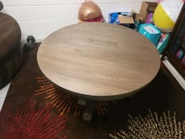 Coffee round table