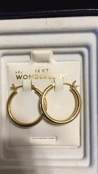 Hoop earrings 14 karat gold Saint Augustine, 32086