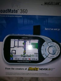 gray and black RoadMate 360 navigation system box Tigard