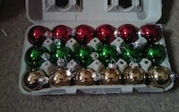 green, red, and gray Christmas bauble set Las Vegas, 89130