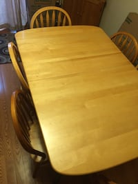 brown wooden dining table set Mississauga, L4Z 3H3