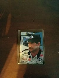Dale Earnhardt trading card Cleveland, 37323