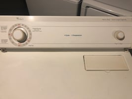 Electric washer and dryer set used...Kenmore Washer & Whirlpool Dryer