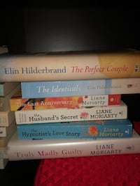 15 books by Elin Hilderbrand and Liane Moriarty New York, 11225