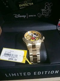 Limited Edition ! Disney invicta ! Burnaby, V5E 1A1