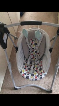 baby's gray and white swing chair Lucama, 27851