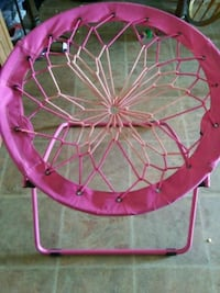 pink and green bungee chair Moorhead, 56560