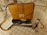 brown leather crossbody bag High Wycombe