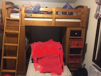 Bunk beds mint condition need gone asap (mattresses not included)