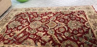 red and white floral area rug Alexandria, 22302