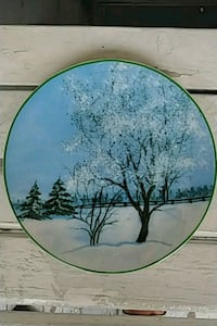 Decorative Winter Plate Toronto, M9C